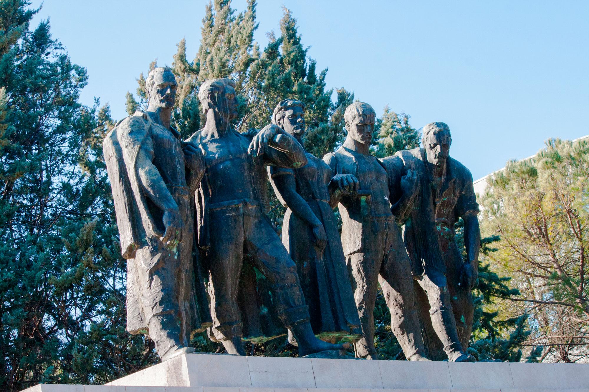 Spomenik Palim Borcima I Zrtvama Fasizma Iz Drugog Svjetskog Rata